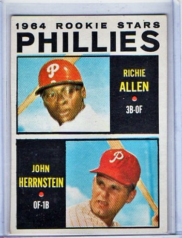 Richie Allen RC 1964 Topps Rookie Stars #243 Phillies Rookie