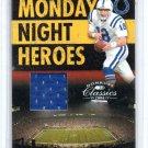 Peyton Manning #/250 2006 Donruss Classics MNH Authentic Jersey #MNH-24 Broncos, Colts