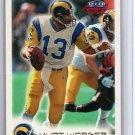 Kurt Warner RC 1999 Fleer Focus #40 Rams Cardinals Rookie HOF