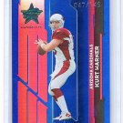 Kurt Warner #/149 HOF 2006 Leaf R&S Longevity #3 Rams Cardinals