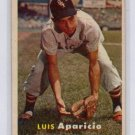 Luis Aparicio 1957 Topps # 7 White Sox, HOF