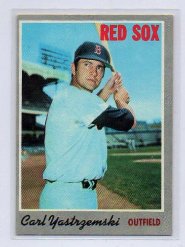 Carl Yastrzemski 1970 Topps #10 Boston Red Sox HOF