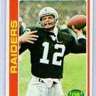 Ken Stabler 1978 Topps #365 Raiders HOF
