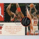 Michael Jordan 1996-97 UD Michael's View Points MVP23 #VP3 Bulls HOF