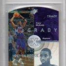 Tracy McGrady RC BGS 1997-98 SPx #42 Rookie BGS Mint 9  Raptors, Rockets, Magic