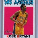 Kobe Bryant 2000-01 Topps Heritage #7 Lakers