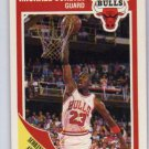 Michael Jordan 1988-89 Fleer Chicago Bulls Basketball Scoring Avg. Leader #21 HOF