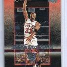 Michael Jordan 2003-04 UD Rookie Exclusives #60 Bulls HOF