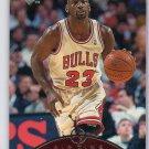 Michael Jordan 1997-98 UD Air Time Arrival #AT-5 Bulls HOF