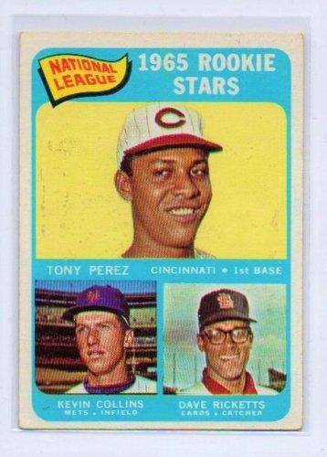 Tony Perez RC SP HOF 1965 Topps N.L. Rookie Stars #581 Reds, Phillies HOF