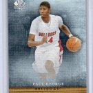 Paul George RC 2013-14 SP Authentic Canvas #CC9 Fresno State, Pacers