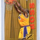 Shaquille O'Neal Insert 1996-97 Skybox Z-Force Boss #14 of 20/B Lakers, Magic, Heat Shaq