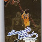 Shaquille O'Neal 1998-99 Fleer Ultra Gold Medallion Edition #93G Lakers, Magic, Heat Shaq