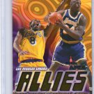 Shaquille O'Neal Insert Kobe 1998-99 Skybox Apex Allies #1 of 15A Lakers, Magic, Heat Shaq