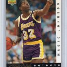 Magic Johnson Insert 1992-93 UD Jerry West Selects #JW10  Lakers