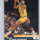 James Worthy Parallel 2006-07 Stadium Club 1st Day Issue #98 Lakers HOF