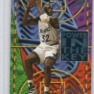 Shaquille O'Neal Insert HOF 1994-95 Fleer Ultra Power in the Key #7of10 Lakers, Magic, Heat Shaq