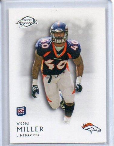 Von Miller RC 2011 Topps Legends #152 Broncos