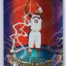 Vince Carter 1999-00 Fleer Force Mission Accomplished Forcefield #MA-1 Raptors Nets, Mavs