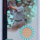 Manny Ramirez #/199 2004 Bowman Sterling Refractor Game-Used Bat #BS-MAR Red Sox, Indians, Dodgers