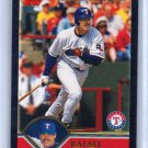 Rafael Palmeiro #/52 Insert 2003 Topps Black #487 Rangers, Orioles, Cubs