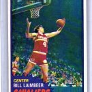 Bill Laimbeer RC 1981-82 Topps RC #74 Cavs, Pistons