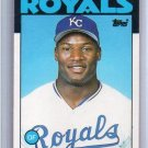 Bo Jackson RC 1986 Topps Traded Rookie #50T Royals