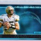 Drew Brees RC 2001 Pacific Invincible New Sensations #24 Saints, Chargers Rookie  #/1250