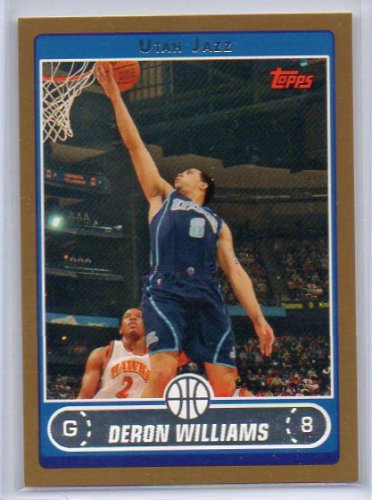 Deron Williams 2006-07 Topps Gold #28 Cavs, Jazz #/500