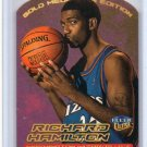 Richard Hamilton RC 1999-00 Fleer Ultra Gold Medallion Edition #129G Wizards, Pistons