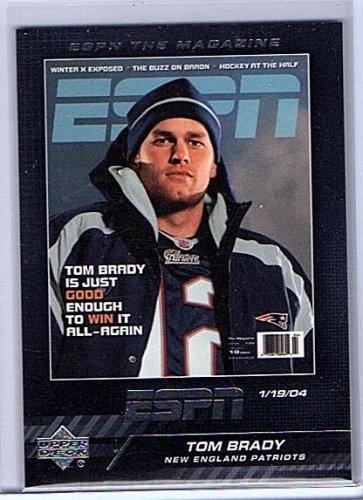 Tom Brady 2005 Upper Deck ESPN the Magazine #TM-6 Patriots