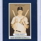 "Mickey Mantle #/50 2005 Topps Origins ""Old Judge"" Blue #137   Yankees"
