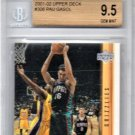 Pau Gasol RC 2001-02 Upper Deck #306 Rookie BGS 9.5 Lakers, Spurs, Bulls Gem Mint