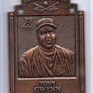 Tony Gwynn Bronze 1997 Pinnacle Xpress Metal Works Die-Cut #11 Padres
