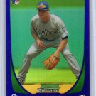 Logan Forsythe RC 2011 Bowman Chrome Purple Refractor #34 Dodgers, Rookie Parallel