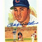 Billy Williams Signed Autographed 1989 Perez-Steele Celebration Postcard #42 Cubs HOF