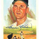 Harmon Killebrew Signed Autographed 1989 Perez-Steele Celebration Postcard #23 Twins HOF
