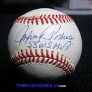 "Brooklyn Dodgers Johnny Podres Signed + ""55 WS MVP""  Autographed Official NL Baseball (Coleman)"