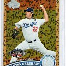 Clayton Kershaw 2011 Topps Update Series Cognac Diamond Anniversary  Dodgers #US-140.1
