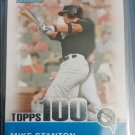 Mike Stanton RC Bowman - Topps 100 Prospects #TP5  Rookie Marlins RC