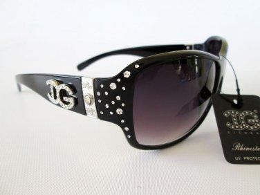 Good Fashion Women Sunglasses, Shades and Eyewear with Crystal Rhinestones
