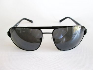 Good Black New Men's Aviator Sunglasses With Brown, Black and Smoke Lens