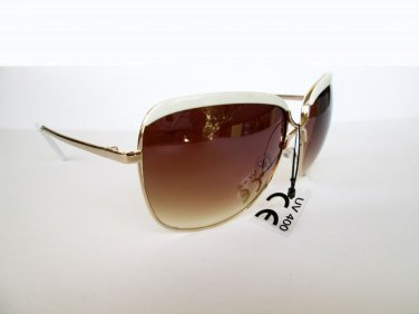 Brand New Style High Fashion Women CE Sunglasses With Black, Brown, White Frames