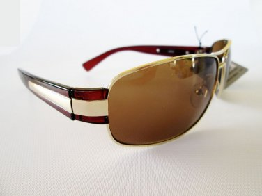 Brand New Mens Brown Aviator, Oval Shaped Sunglasses and Shades For Everyday Use