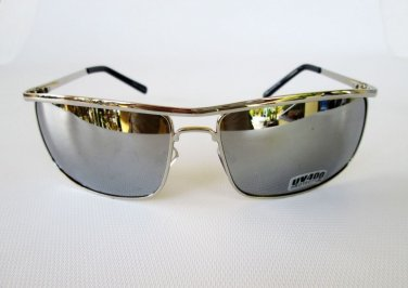 Men's Sunglasses and Shades With Mirror Lens and Metal Frames For Everyday Use
