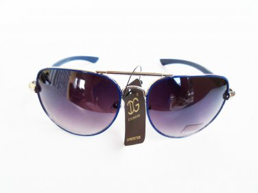 Women's Aviator Sunglasses with Smoke Black Lens with Pink, Black, Silver Frames