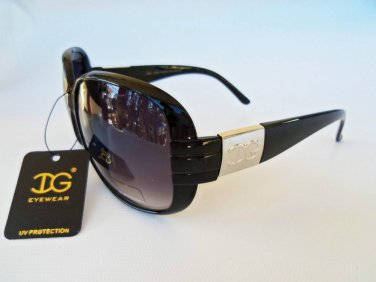 New Womens Sunglasses With Black Lens and Frames