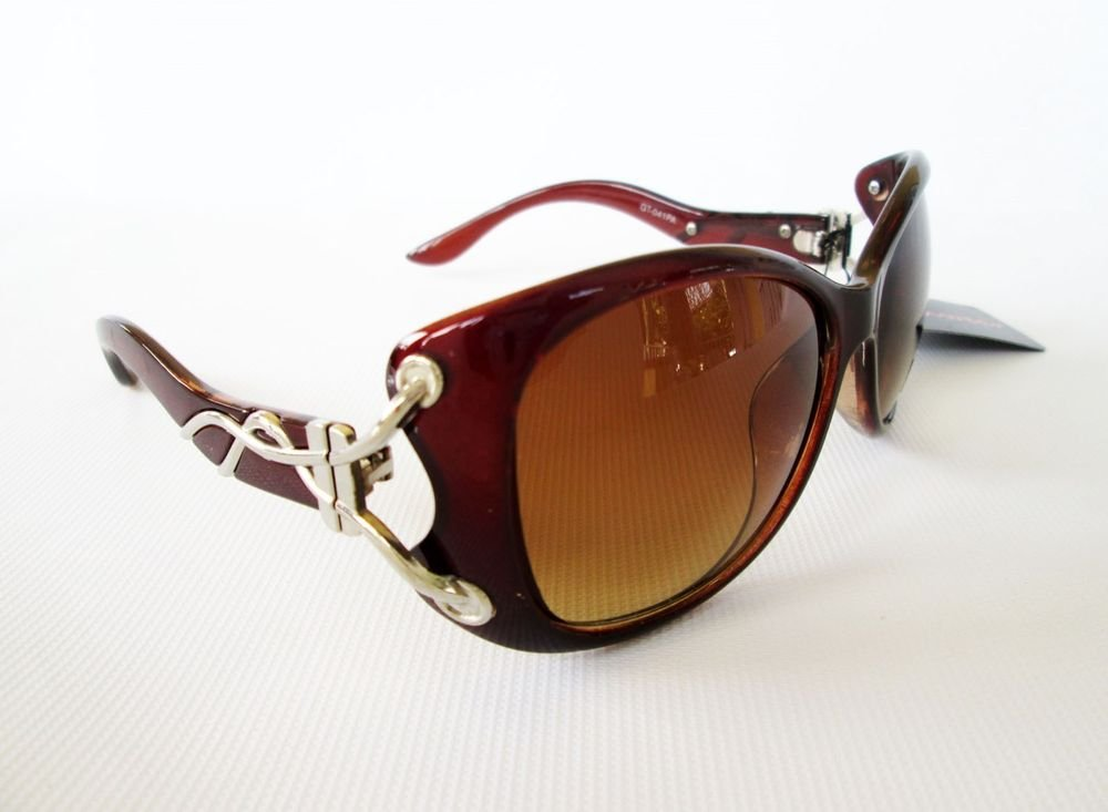 Good High Fashion and Top Seller Cat Eye Women's Sunglasses With Brown Lens