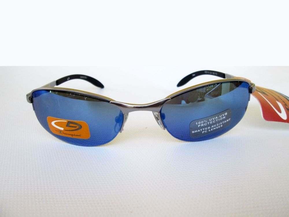 Good Small Lens Men's Sunglasses With Blue Mirror Lens For Everyday Use.