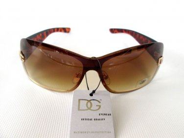 Nice Brand New Tortoise Round Oval Women Sunglasses & Shades With Brown Lens